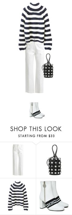 """Untitled #275"" by copenhag3n ❤ liked on Polyvore featuring Calvin Klein Collection, Alexander Wang, WithChic and GCDS"