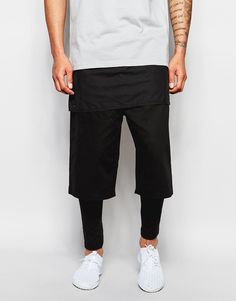 Look stunning with this  ASOS Meggings With Short In Extreme Short Length - Black - http://www.fashionshop.net.au/shop/asos/asos-meggings-with-short-in-extreme-short-length-black/ #ASOS, #Black, #ClothingAccessories, #Extreme, #In, #Length, #Male, #Meggings, #Mens, #MensFullLengthTrousers, #Short, #Trousers, #With #fashion #fashionshop