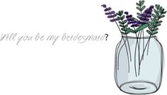 Check out this item in my Etsy shop https://www.etsy.com/ca/listing/473641687/handmade-will-you-be-my-bridesmaid