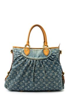 Vintage Louis Vuitton Denim Neo Cabby Handbag
