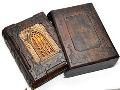 Leather journal A tale from Transylvania gothic journal by dragosh