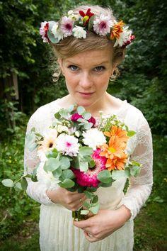 | Maria & Haavard's wedding | #weddingphotography #wedding #weddingphoto Wedding Photos, Floral Wreath, Wedding Photography, Wreaths, Decor, Marriage Pictures, Floral Crown, Decoration, Door Wreaths