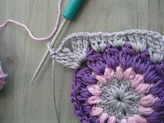 Granny starburst step-by-step tutorial