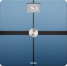 Withings - Body Composition Wi-Fi Smart Scale - Black, WBS05 BLACK