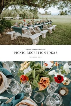 Intimate weddings are the answer to wedding restrictions this year and backyard weddings are perfect for summer! This picnic table reception set up by Soiree 99 Events outside of Missoula Montana was colorful and so fun for this intimate summer backyard wedding at the Homestead on McVey! Montana weddings with mountain views never get old!! Looking for a wedding photographer in Montana? I'm booking through 2022 - let's capture your wedding day!! Backyard Weddings, Spring Weddings, Outdoor Wedding Venues, Softball Wedding, Golf Wedding, Outdoor Wedding Inspiration, Wedding Ideas, Montana Wedding, Engagement Party Invitations