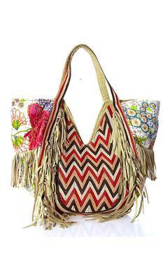 Antik Batik Bag I Love Indonesia Aussi Ethnic Bohemian Accessories Long Hair