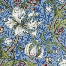 William Morris cross stitch