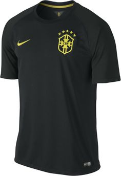 Brazil Third Jersey - World Cup 2014 Brazil Football Kit, Football Kits, Football Uniforms, Football Jerseys, World Cup 2014, Fifa World Cup, Nike Gear, Vintage Shirts, T Shirts