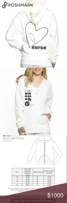 Coming: PLW I am Nurse Hoodie I am life I am Nurse Hoodie already to wear to work. Be proud and wear this..  Non Smoking and Pet Friendly Home Peace Love World Tops Sweatshirts & Hoodies