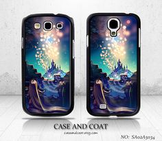 Samsung Galaxy S4 case, Samsung Galaxy S3 case, Phone Cases, Phone Covers, Samsung Cases, Disney Tangled, Case for Samsung - SA02A5034