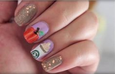 Pumpkin Spice Nails that'll Get You Excited for Fall