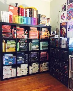 And how long did this take to perfect?   24 Bookshelves That Will Mildly Arouse Any Book Lover