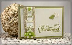 Stampin' Up Glückwunschkarte zur Hochzeit, Perfekter Tag