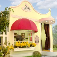 Child playhouse:  BEAUTY BOUTIQUE $6200.00 sooo fun to imagine little girls playing dress up