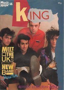 KING - MUSIC MAJOR MAGAZINE 1985