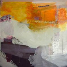 "Madeline Denaro - Caracara, 2012 acrylic with polymers on canvas 48""x48"""