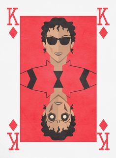 Michael Jackson Thriller Card