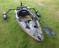 Inflatable Kayak Storage Image effect for fishing kayak ideas Kayak Fishing Gear, Fishing Boots, Kayak Camping, Canoe And Kayak, Sport Fishing, Best Fishing, Canoe Boat, Outdoor Camping, Kayak Outriggers