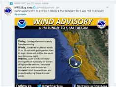 Northern California PREPARE NOW WARNING