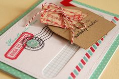 Slider card by Danielle Flanders for Papertrey (February 2012).