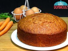 Bizcocho de zanahorias o carrot cake – Loli Dominguez My Recipes, Cake Recipes, Cooking Recipes, Apple Desserts, Delicious Desserts, Easy Carrot Cake, Sweet Little Things, Un Cake, Cake With Cream Cheese