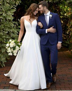 Cute Wedding Dress, Classic Wedding Dress, Wedding Dress Trends, Dream Wedding Dresses, Bridal Dresses, Wedding Gowns, Bridesmaid Dresses, Boho Wedding, Wedding Tumblr