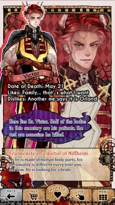 Shall we date? The niflheim - Victor