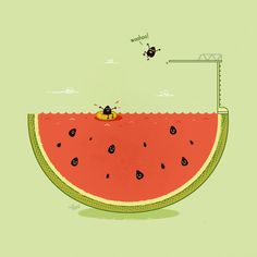 Pun LifeHack illustration 10 Funny Puns Which Will Surely Make You Smile Illustration Mignonne, Funny Illustration, Food Illustrations, Conceptual Illustrations, Cute Puns, Funny Puns, Funny Cartoons, Cartoon Humor, Fun Funny