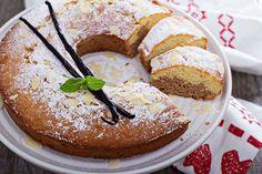 Bizcocho de Vainilla y Chocolate con Almendra Te enseñamos a cocinar recetas fáciles cómo la receta de Bizcocho de Vainilla y Chocolate con Almendra y muchas otras recetas de cocina..