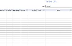 Useful Microsoft Word & Microsoft Excel Templates