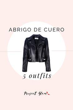 Ideas de combinaciones con una chaqueta de cuero. Mucha inspiración para ti.  #LeatherJacket #Chaquetadecuero #outfits #combinaciones #ProjectGlam Ourfit, Silvester Outfit, Cool Outfits, Casual Outfits, Fabric Crafts, Leather Jacket, Elegant, Jackets, Clothes