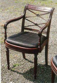 duncan phyfe regency chair