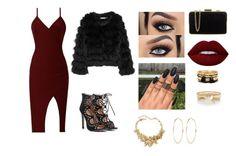 """""""Outfits #55"""" by emelygabriela on Polyvore featuring Lime Crime, River Island, Oscar de la Renta, MICHAEL Michael Kors, Forever 21 and Alice + Olivia"""