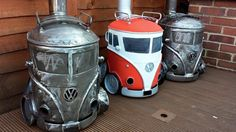 Volkswagen - These VW Campervan Log Burners Are The Hottest Things You Can Buy Right Now - Car Art