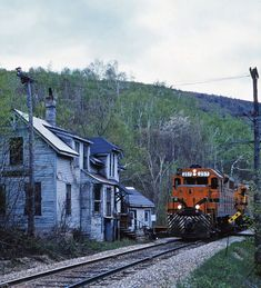 Railroad: Maine Central at Crawford Notch, NH.