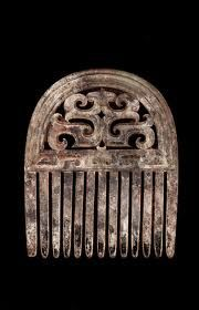 Eastern Zhou Dynasty Jade Hair Comb