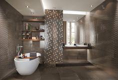 new bathroom design Best 15 Modern Bathroom Design Trends 2016 Master Suite Bathroom, Bathroom Spa, Bathroom Colors, Small Bathroom, Bathroom Modern, Bathroom Design Inspiration, Bad Inspiration, Bathroom Design Luxury, Home Interior Design