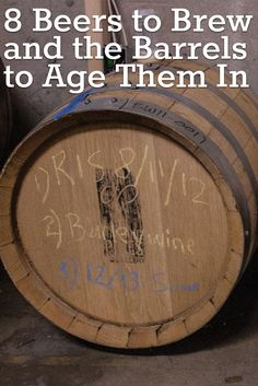 8 Beers to Brew and the Barrels to Age Them In Brewing Recipes, Homebrew Recipes, Beer Recipes, Liquor Before Beer, I Like Beer, Brewing Equipment, Home Brewing Beer, How To Make Beer, Wine And Beer