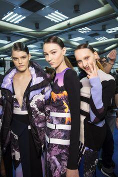 Photo credit: Peter Pilotto, British Fashion Council, LFW AW14 British Fashion, British Style, Peter Pilotto, Backstage, Photo Credit, Fall Winter, Style Inspiration, London, Purple