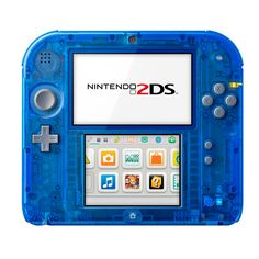 Consola Nintendo 2DS Azul Transparente La Consola Nintendo 2DS, es el nuevo miembro de la familia de consolas Nintendo 3DS. La Consola Nintendo 2DS Nintendo 2DS es tu puerta de entrada portátil a un mundo de maravillosos juegos y servicios; podrás conectar con amigos y con la comunidad global de Nintendo con las opciones para compartir. Lleva la experiencia de juego portátil a un nivel superior con Nintendo 2DS