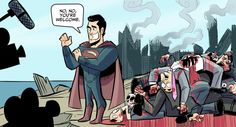Man of Steel aftermath...