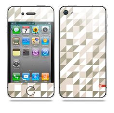 Semipixel Grey iPhone skin by TAJTr