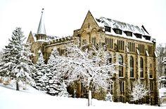 Minnesota Postcard Thorson Hall St Olaf College Northfield