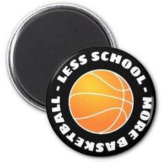 Basketball Car Magnet Orange By Customsportstop On Etsy - Custom basketball car magnets