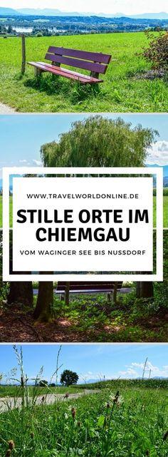Stille Orte abseits der Touristenpfade haben wir entdeckt auf unserer Tour vom Waginger See bis Nussdorf im Chiemgau.