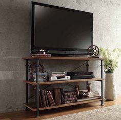 Decor Look Alikes | Black Friday Deals, Overstock Myra Vintage Industrial TV Stand