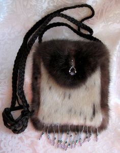 Seal and Sea Otter Small Dance Purse