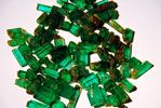 More Emeralds from mine of Carnaiba, in Marota, municipality of Pindobacu, state of Bahia.