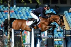 Irish showjumpers in fourth and William Whitaker is solo Brit at the European Championships http://trib.al/qIUAkmB