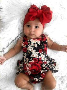 6f2f888adcb8 Magdalena Black Floral Ruffle Romper - PRE ORDER – Ruffles   Bowties  Bowtique Cute Baby Girl